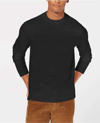 Club Room Men's Flatback Crewneck Sweater, Created for Macy's