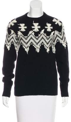 No.21 No. 21 Knit Long Sleeve Sweater