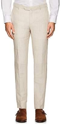 Isaia Men's Cortina Linen Trousers
