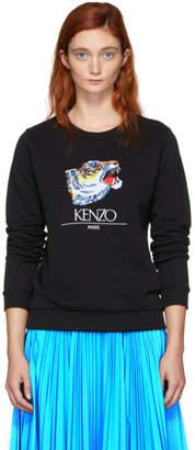Kenzo (ケンゾー) - Kenzo 限定エディション ブラック タイガー ヘッド スウェットシャツ