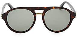 Cartier Men's 55MM Aviator Sunglasses