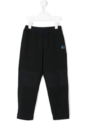 Versace track pants with knee panels