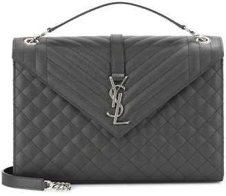 Saint Laurent Large Monogram Envelope shoulder bag