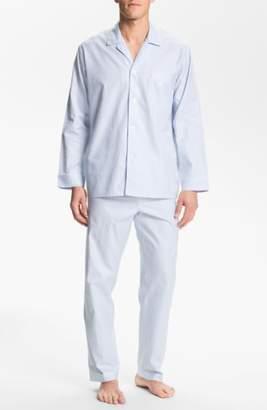 Majestic International Herringbone Cotton Pajamas