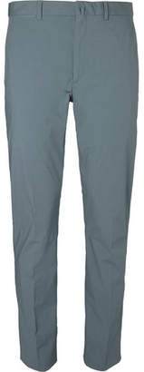Acne Studios Grey Brobyn Slim-Fit Stretch-Cotton Suit Trousers