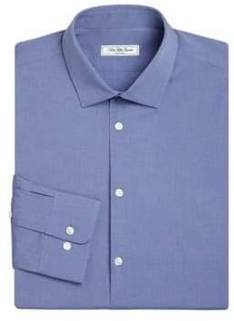 Saks Fifth Avenue MODERN Slim-Fit Stretch Poplin Dress Shirt