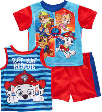 Nickelodeon's® 3-Pc. Graphic-Print Pajama Set, Toddler Boys