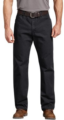 Dickies Genuine Men's Relaxed Fit Straight Leg Dungaree Jeans
