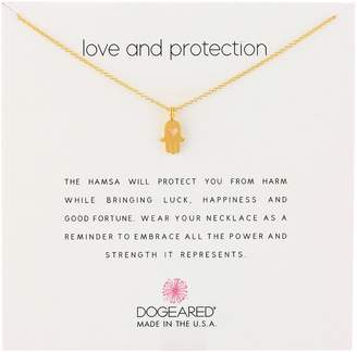Dogeared Love Protection Pendant Necklace, 18""