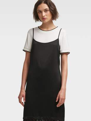DKNY T-Shirt Slip Dress
