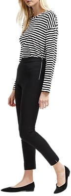 French Connection Kara Skinny Trousers, Black