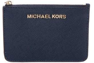 MICHAEL Michael Kors Leather Card Holder
