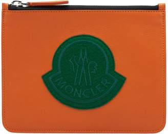 Moncler Small Oversized Logo Pouch