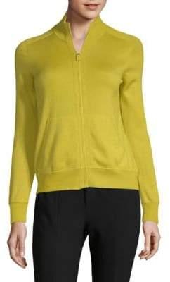 Akris Cashmere & Silk Knit Jacket