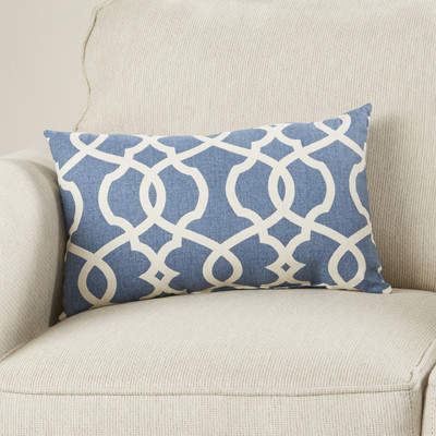Wayfair Marisha Cotton Lumbar Throw Pillow