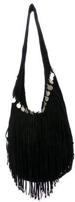 Simone Camille Fringed Suede Hobo