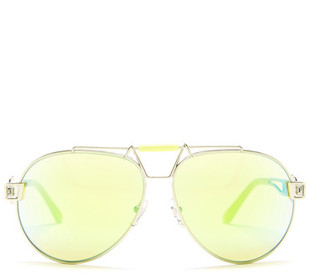 Versace Women&s Rock Icons Aviator Sunglasses $89.97 thestylecure.com