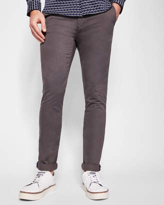 Ted Baker TAPCOR Tapered fit cotton chinos