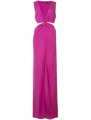 Balmain cut out detail dress $1,325 thestylecure.com