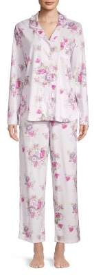 Karen Neuburger Two-Piece Printed Pajama Set