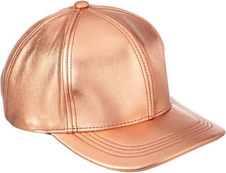 Marcus Collection Adler Genuine Leather Baseball Cap