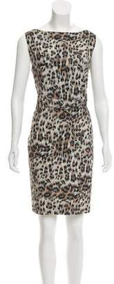 Chloé Sleeveless Animal Print Dress