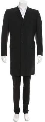 Alexander McQueen Wool & Mohair Coat