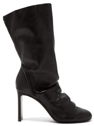 Nicholas Kirkwood D'arcy Nappa Leather Ankle Boots - Womens - Black