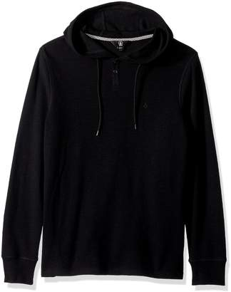 Volcom Men's Murphy Hooded Long Sleeve Thermal Shirt