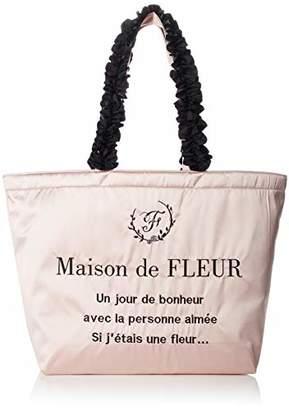 Maison de Fleur (メゾン ド フルール) - [メゾンドフルール]5thアニバーサリーフリルトートLバッグ Pink