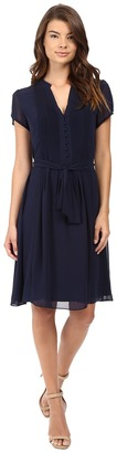 Christin Michaels Liaden Shirtdress $74 thestylecure.com