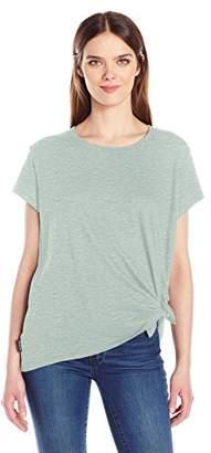 Calvin Klein Jeans Women's Short Sleeve Tie Knot T-Shirt