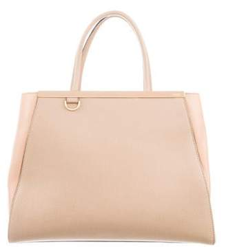 Fendi Medium 2Jours Tote Beige Medium 2Jours Tote