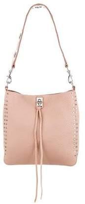 Rebecca Minkoff Darren Leather Small Feed Bag