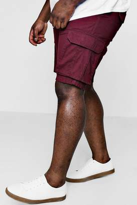 boohoo Big And Tall Cotton Cargo Short