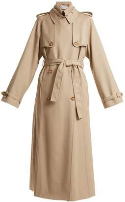 GABRIELA HEARST Lorna double-breasted wool trench coat