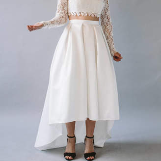 story. Of My Dress Winnie High Low Hem Bridal Separates Skirt