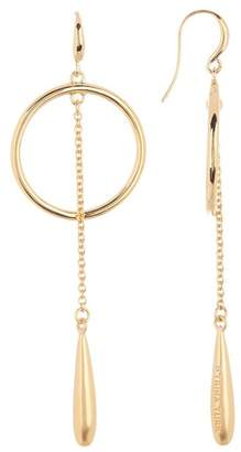 Trina Turk Teardrop & Open Hoop Dangle Earrings