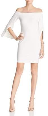 Amanda Uprichard Mills Off-the-Shoulder Sheath Dress