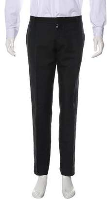 DSQUARED2 Silk-Blend Tuxedo Pants