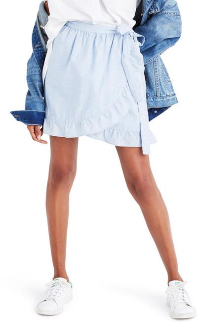 Madewell Meadow Wrap Skirt
