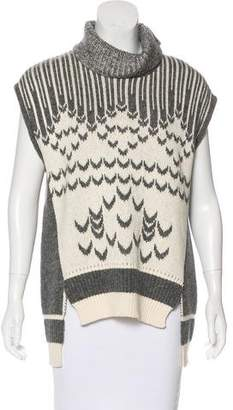 Prabal Gurung Sleeveless Turtleneck Sweater