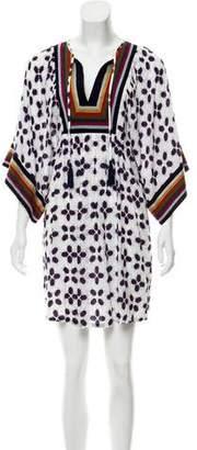 Tory Burch Feliz Embroidered Mini Dress