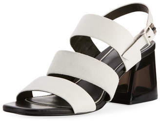 Rag & Bone Reese Three-Strap City Sandal