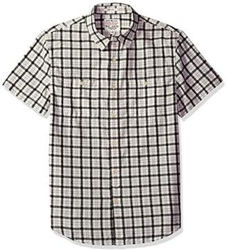 Lucky Brand Men's Woven Mason Workwear Shirt