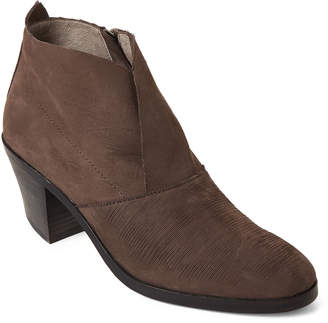 Eileen Fisher Storm Murphy Leather Ankle Booties