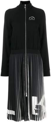 Karl Lagerfeld Paris Rue St Guillaume pleated dress