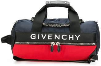 Givenchy logo web panel backpack