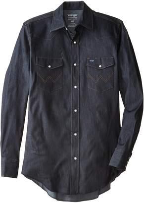 Wrangler Men's Big-Tall Big & Tall Long Sleeve Denim Workshirt 2X
