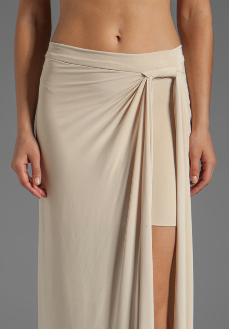 T-Bags LosAngeles Side Slit Maxi Skirt